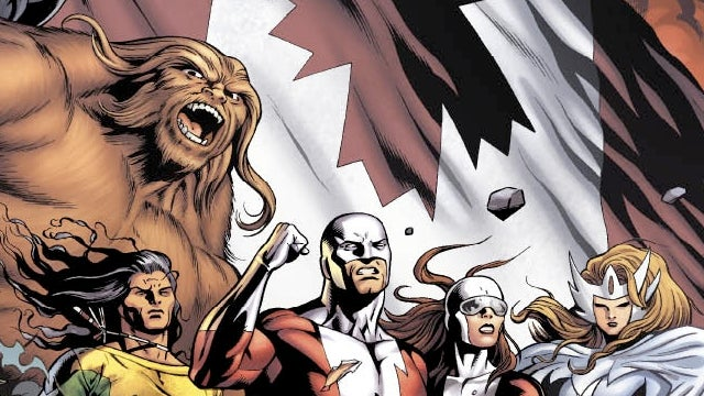 "Wednesday's comics will have you warbling ""O Canada"""