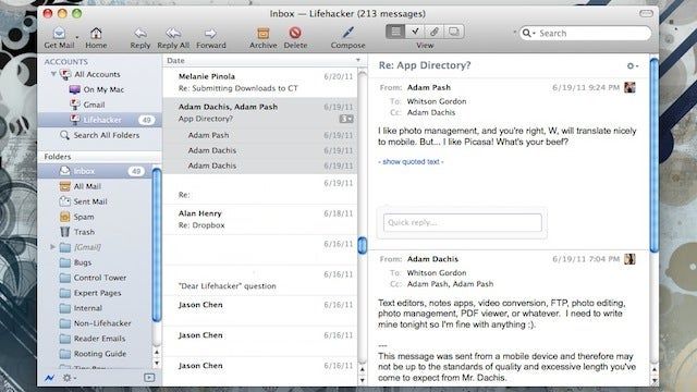 Postbox Email Client Now Faster, Easier to Navigate, and Only $20