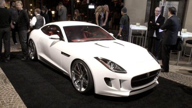 Jaguar C-X16: White is the new silver