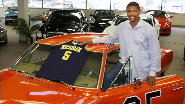 "Secret ""Dukes Of Hazzard"" fan Jalen Rose selling Confederate-free General Lee"
