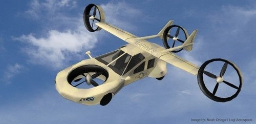 The Military-Designed Flying Car For Dodging Roadside Bombs