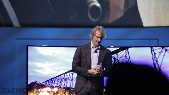 Michael Bay Just Freaked Out at a Samsung Press Conference (Update: Bay Speaks!)