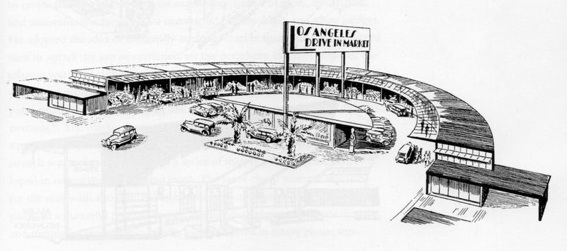 This Automated Drive-In Market Was Pretty Retro, Even For 1956