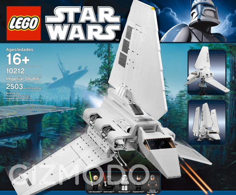 Exclusive: The New Gigantic Lego Imperial Shuttle