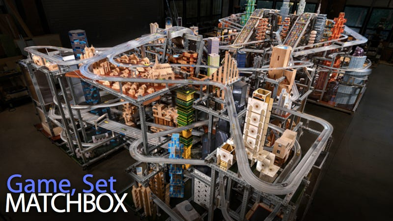 Monstrous Metropolis II Cityscape Treats Matchbox Cars to a True Infinite Loop