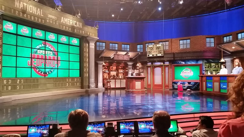 Here's What The Sports Jeopardy! Set Will Look Like