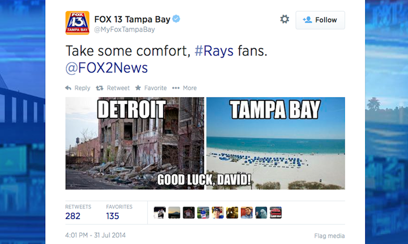 Fuck The Tampa Bay Fox Affiliate