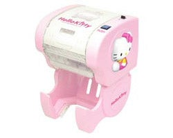 Hello Kitty Toilet Paper Dispenser Advances Buttocks Tech