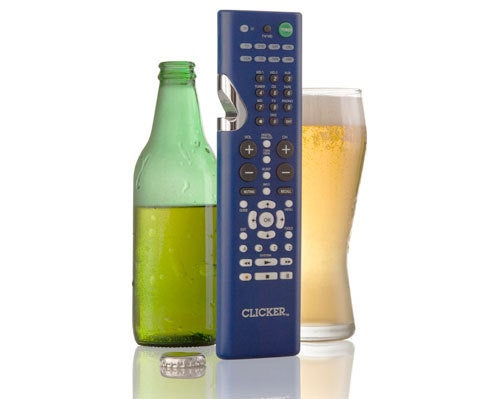 Bottle-Opening Remote Makes Sitting on the Couch Drinking Beer Even Less Labor Intensive