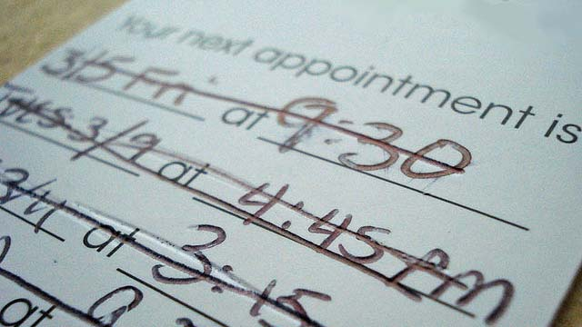 Another Reason Why You Should Schedule Medical Appointments Early in the Day