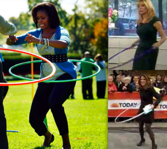 Grown Women Hula-Hooping: Michelle Obama Started a Meme