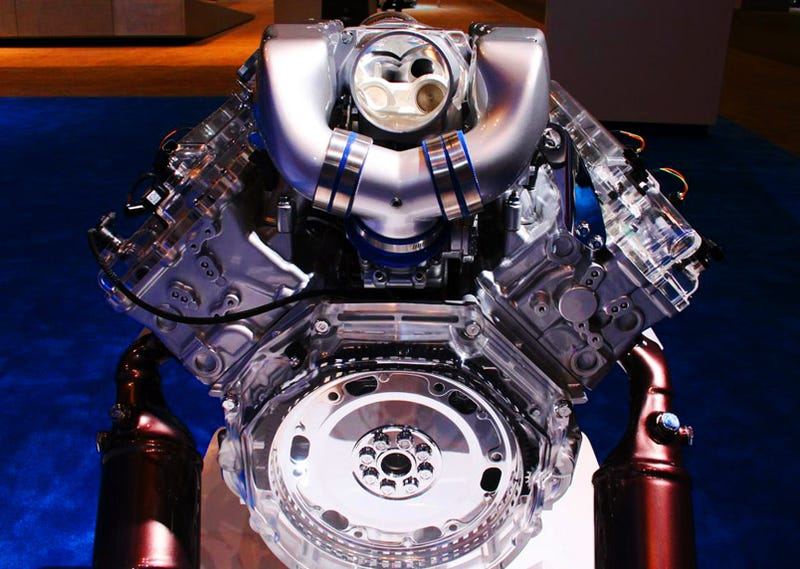 Hyundai Shows Off 460 HP Prototype Supercharged Tau V8