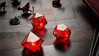 These Dice Celebrate Every Critical Hit With Flashing Lights