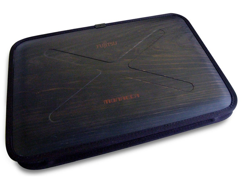 Fujitsu Gets Into the Wooden Laptop Business for Milan Furniture Show