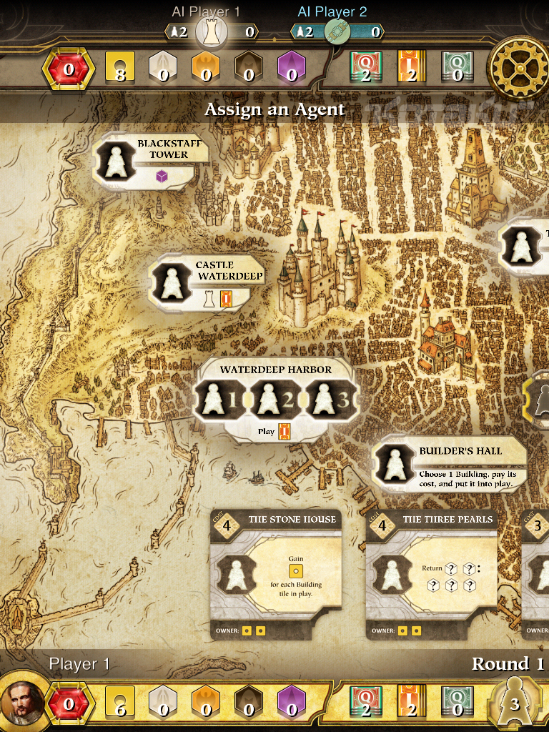 D&D's First Official iPad Game Is Lords Of Waterdeep