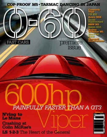 That Sound You Heard Was the American Car Magazine Business Downshifting: 0-60 Debuts