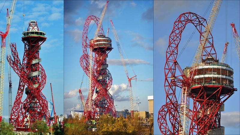That Weird Orbit Tower In London Is Now Completed
