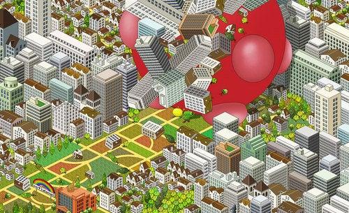 Katamari vs. SimCity vs. Pixel Art