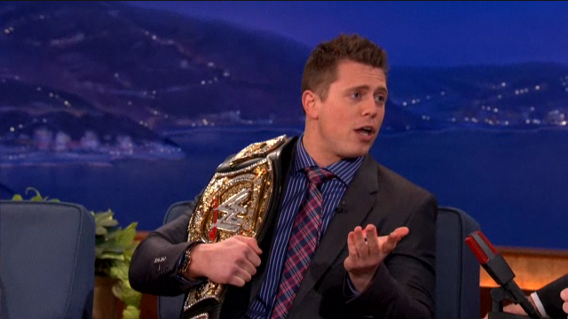 The Miz is Used to Being Booed by Crowds of People