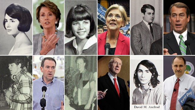 Nancy Pelosi Was a Fox, John Boehner Looked Like Lurch, and Other Revelations from Politicos' Yearbook Photos