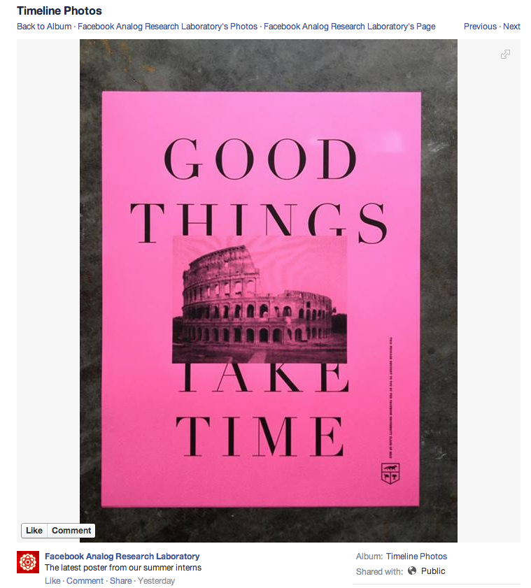 Facebook Chooses Worst Possible Metaphor