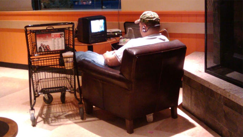 And You Thought Laptops In Starbucks Were Bad