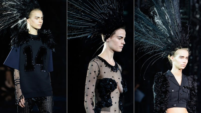 Marc Jacobs' Final Show for Louis Vuitton Was a Thing of Dark Beauty