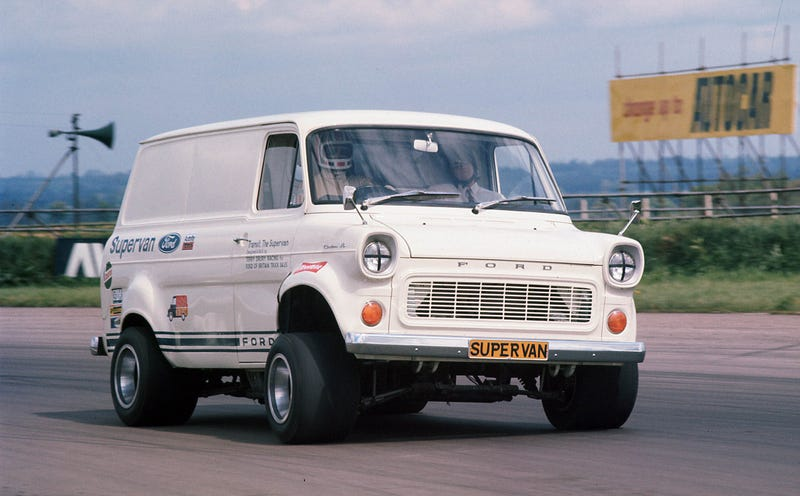 Because I will never tire of posting or seeing this (Supervan!)
