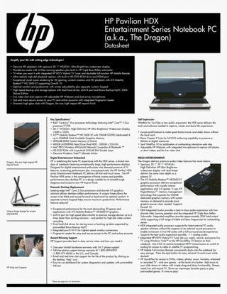 """HP's 20-inch HDX """"Dragon"""" Laptop Walked Through and Reviewed"""