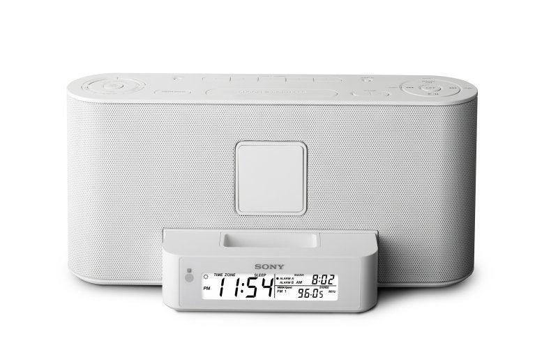 Sony's iPod ZZ-S2iP BoomBox and ICF-C1iP Clock Radio