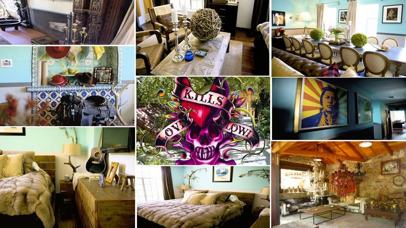 Ed Hardy Creator's Home Looks Just Like You Think It Would