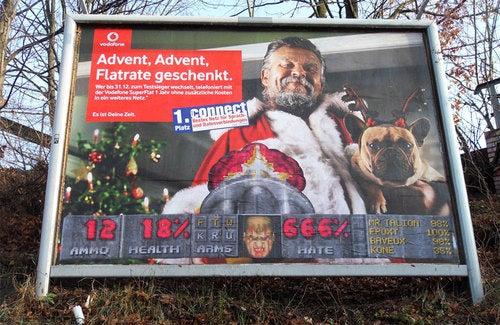 German Artists Send Billboards To Their Doom!