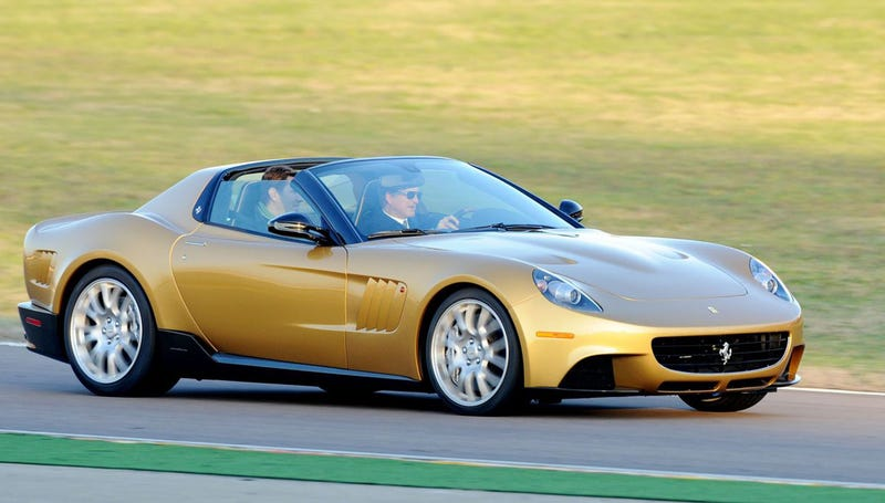 Ferrari P540 Superfast Aperta: The Golden 599