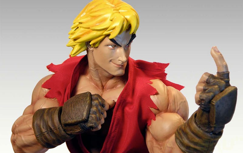A Giant Ken Action Figure, For The Street Fighter Fan Who Has Everything