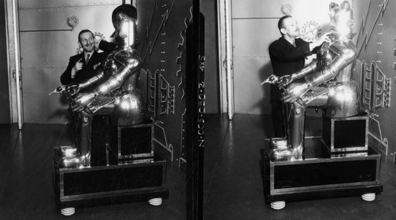 The 1930s Mechanical Man Who Tried To Start A Robot Uprising
