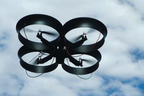 Avatar-Chic CyberQuad UAV Trades Rotors for Fans
