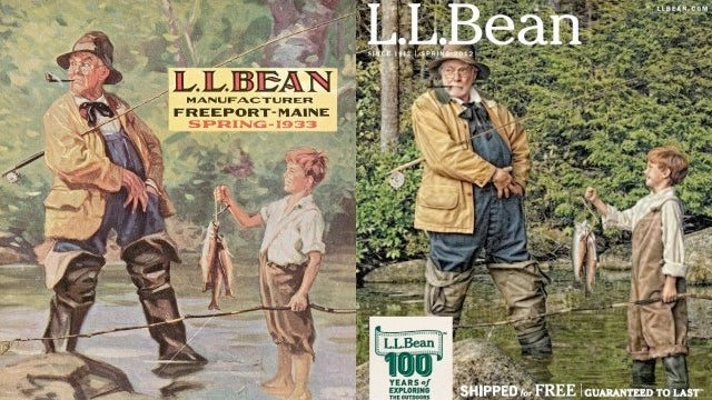 L.L. Bean Recreates the Magic of Old Catalogs with the Magic of Photoshop