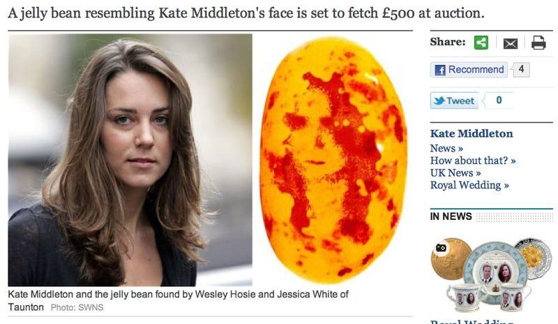 The Supernatural Kate Middleton Mango Jelly Bean