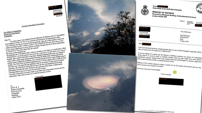The Best of the U.K.'s Newly-Opened UFO Files