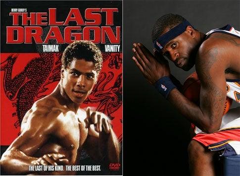 Stephen Jackson Is The Last Dragon
