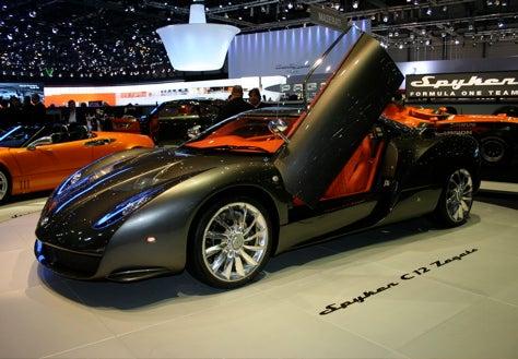 Geneva Showcase: Spyker C12 Zagato