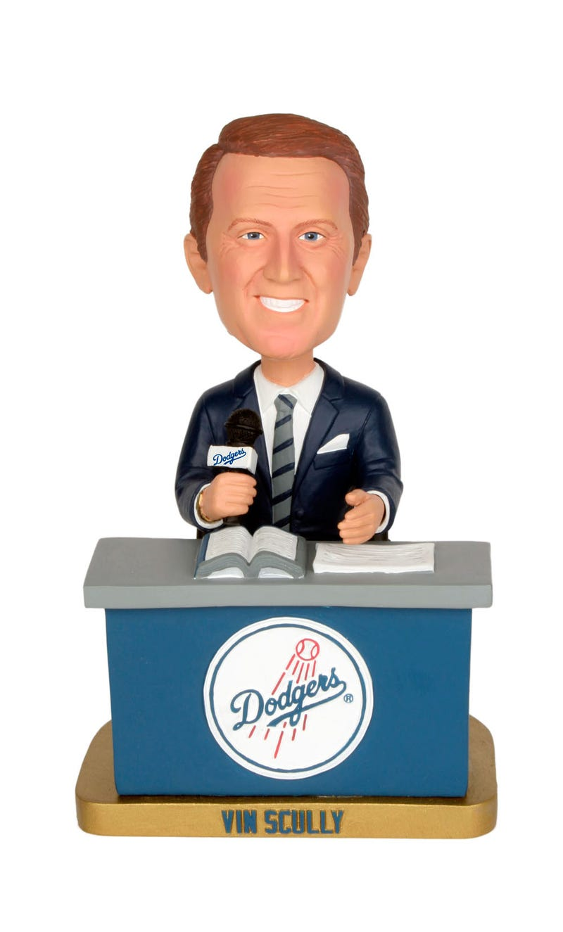 Vin Scully Can Even Make Bobbleheads Seem Cool Again