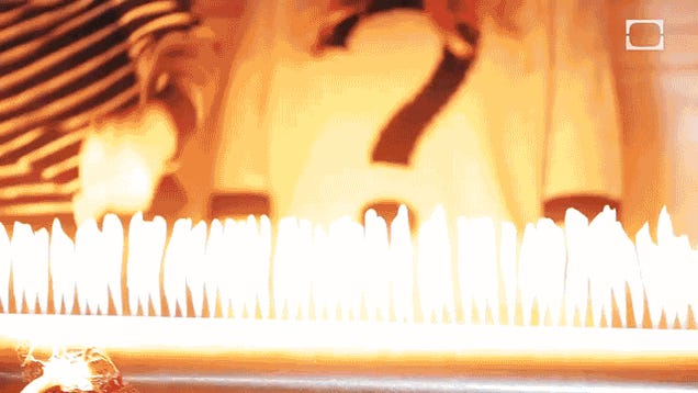 Dubstep Visualized With Fire Is A Great Way To Burn Your Eyebrows Off
