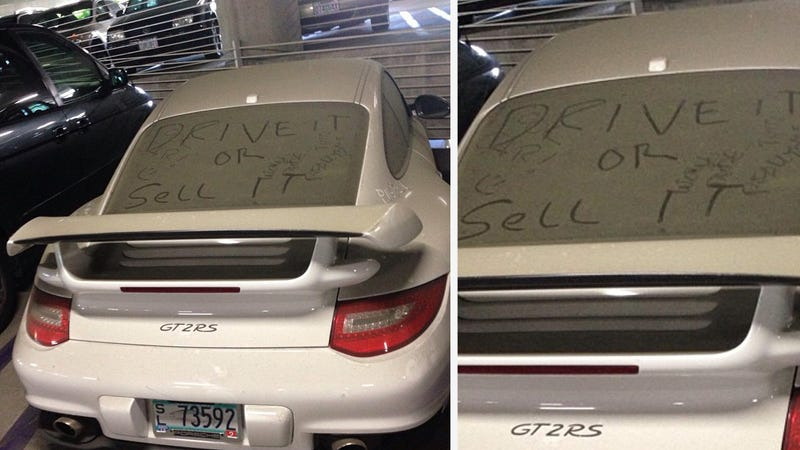 Who The Hell Abandons A Porsche 911 GT2 RS?