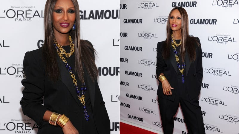 Iman Transforms Into Her Earthly Shape So We Can Gaze Upon Her