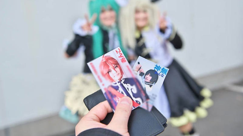 Cosplayers Have Business Cards, Too, You Know