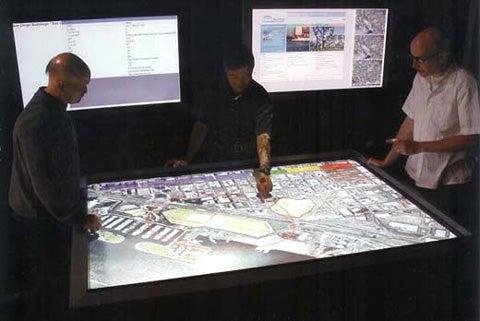 Northrop Grumman's TouchTable Great For War-Planning Parties