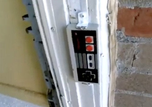 NES Controller Becomes Wireless Doorbell