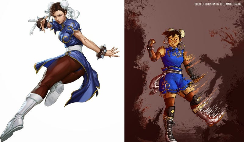 Fantastic Redesigns Of Women Characters By Women Science Fiction Artists