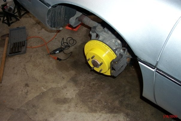 You're Doing It Wrong: Painted Rotors Edition